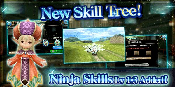 New Skill Tree